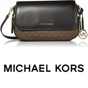Michael Kors Signature Beford Flap Crossbody Bag